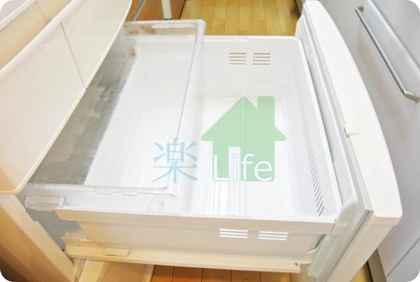 加工済み 冷凍庫空っぽ