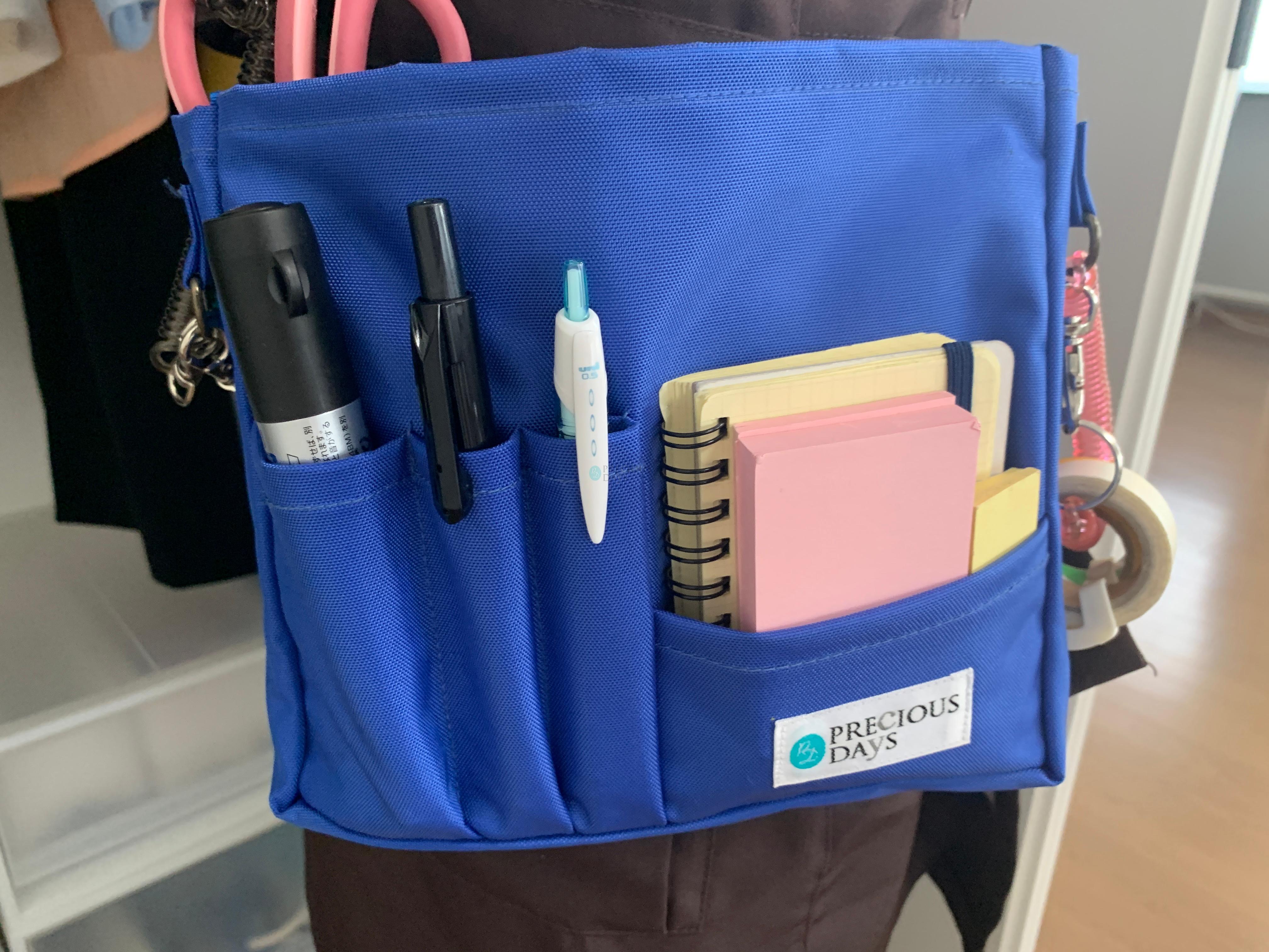 Preciousdaysバッグはコンパクトでもたくさん入ります
